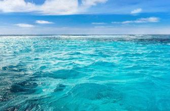 Какое море самое тёплое в мире