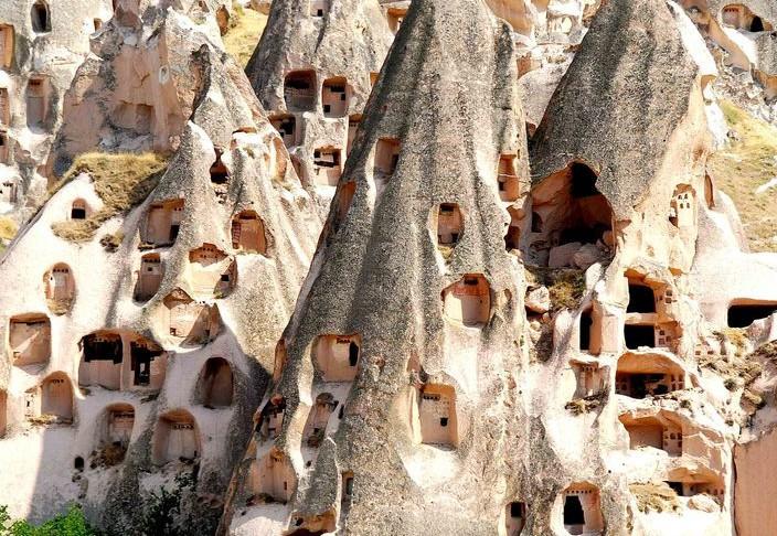 Каппадокия отдых в Турции, как добраться, воздушные шары