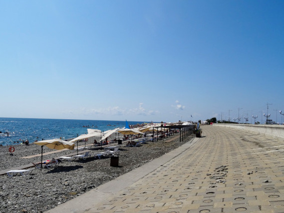 15 лучших пляжей Адлера